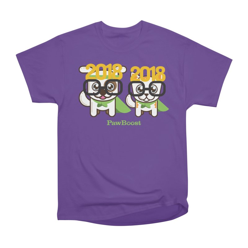 Hello 2018! Women's Classic Unisex T-Shirt by PawBoost's Shop