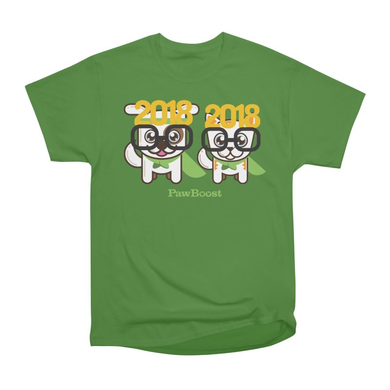 Hello 2018! Men's Classic T-Shirt by PawBoost's Shop