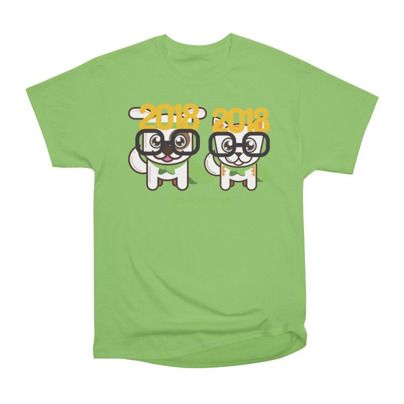 Hello 2018! Men's Heavyweight T-Shirt by PawBoost's Shop