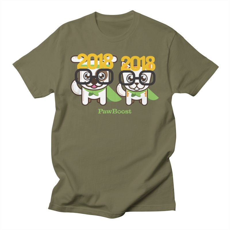 Hello 2018! Men's T-Shirt by PawBoost's Shop