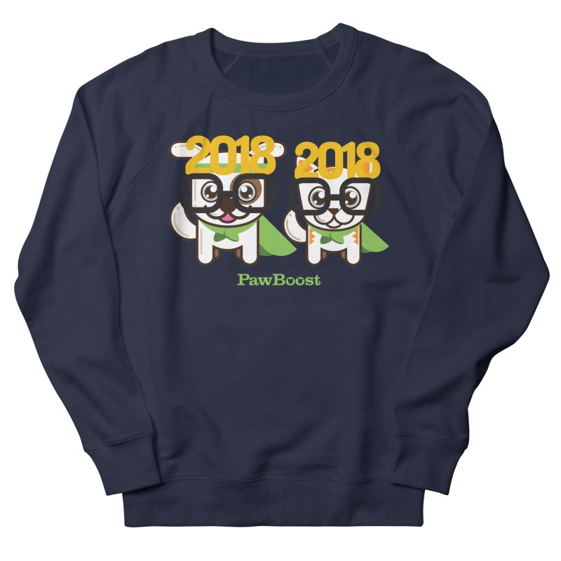 Hello 2018! Men's French Terry Sweatshirt by PawBoost's Shop