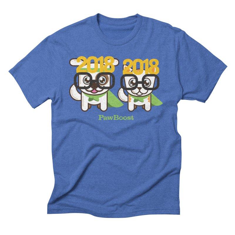 Hello 2018! Men's Triblend T-Shirt by PawBoost's Shop