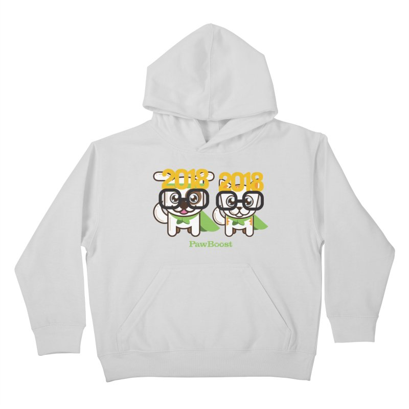 Hello 2018! Kids Pullover Hoody by PawBoost's Shop