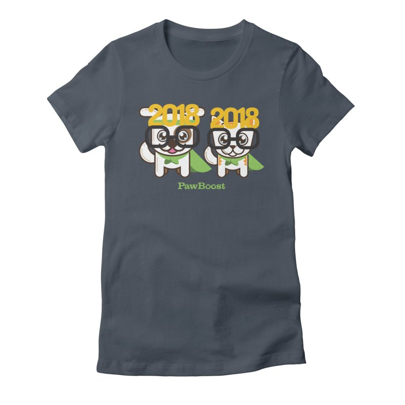 Hello 2018! Women's T-Shirt by PawBoost's Shop