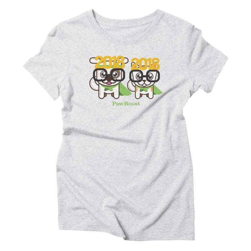 Hello 2018! Women's Triblend T-Shirt by PawBoost's Shop