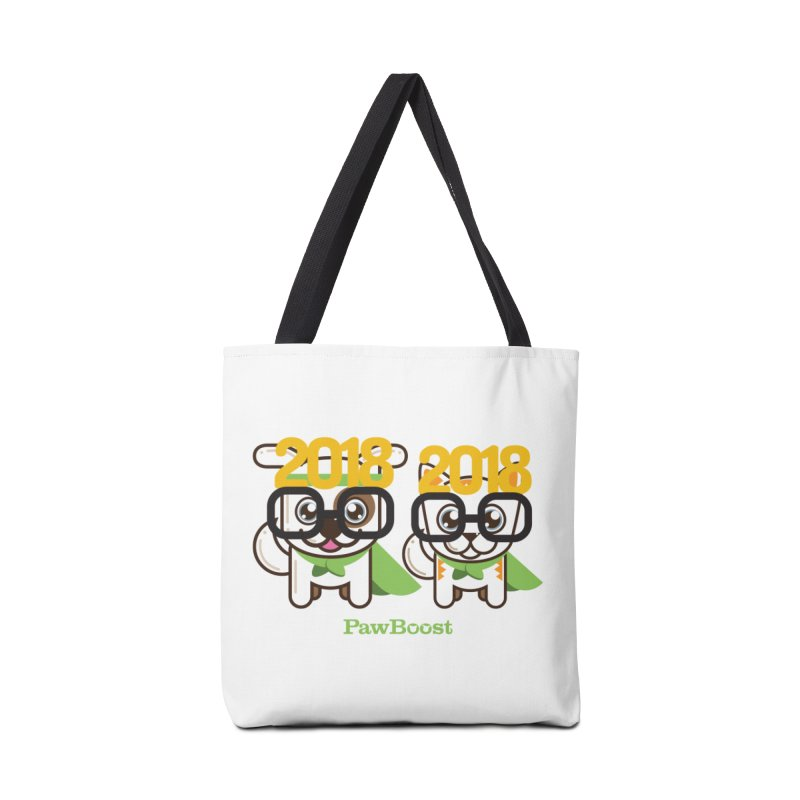 Hello 2018! Accessories Tote Bag Bag by PawBoost's Shop