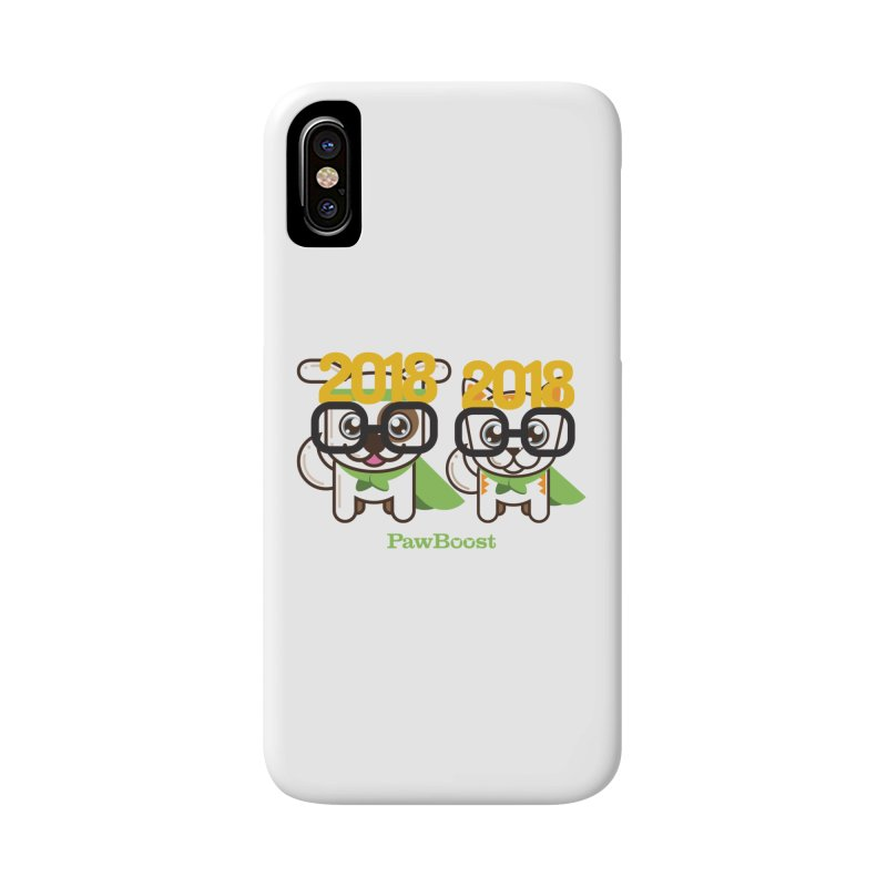 Hello 2018! Accessories Phone Case by PawBoost's Shop