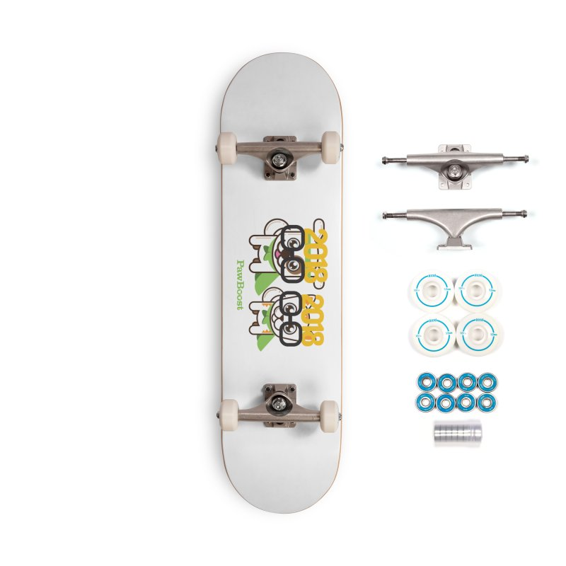 Hello 2018! Accessories Complete - Basic Skateboard by PawBoost's Shop
