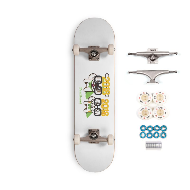 Hello 2018! Accessories Complete - Premium Skateboard by PawBoost's Shop