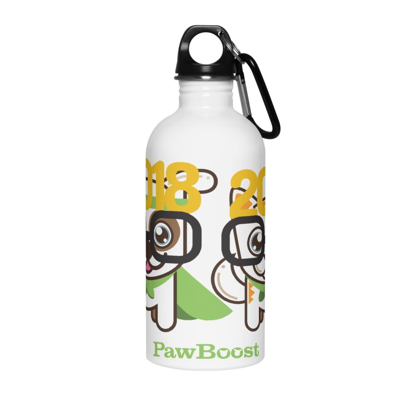 Hello 2018! Accessories Water Bottle by PawBoost's Shop
