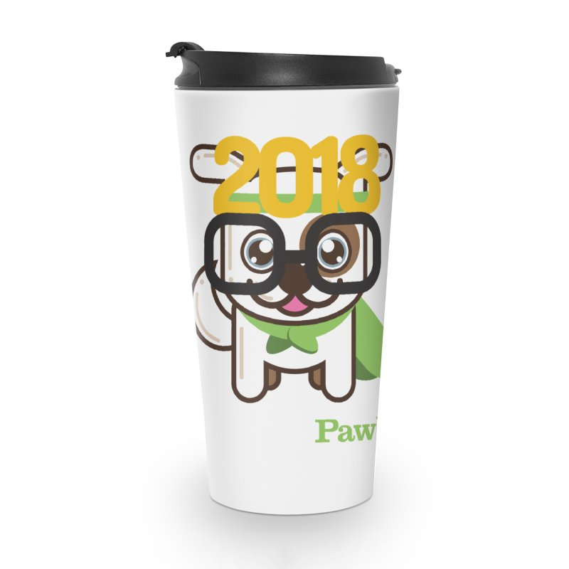 Hello 2018! Accessories Travel Mug by PawBoost's Shop