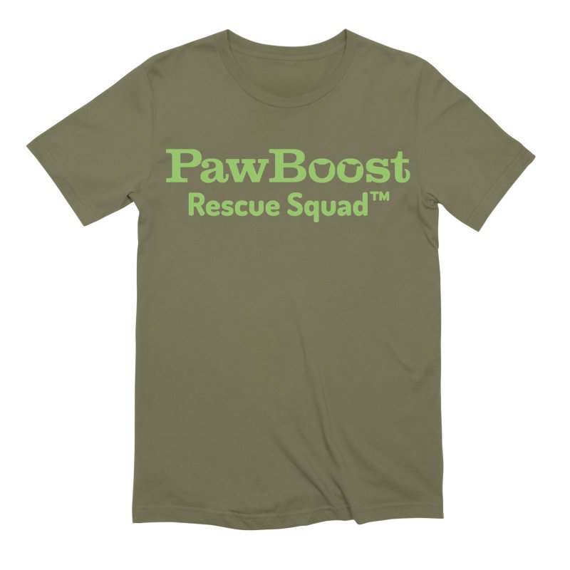 Rescue Squad Men's Extra Soft T-Shirt by PawBoost's Shop