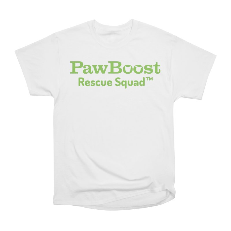 Rescue Squad in Women's Heavyweight Unisex T-Shirt White by PawBoost's Shop