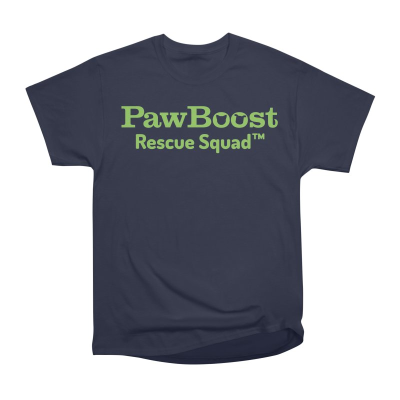 Rescue Squad Women's Heavyweight Unisex T-Shirt by PawBoost's Shop