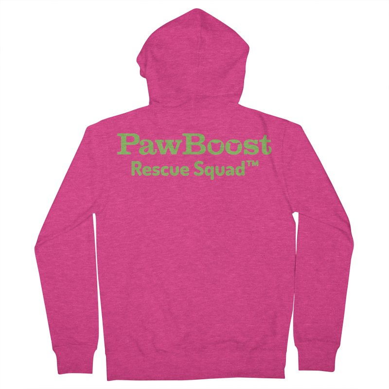 Rescue Squad Women's Zip-Up Hoody by PawBoost's Shop