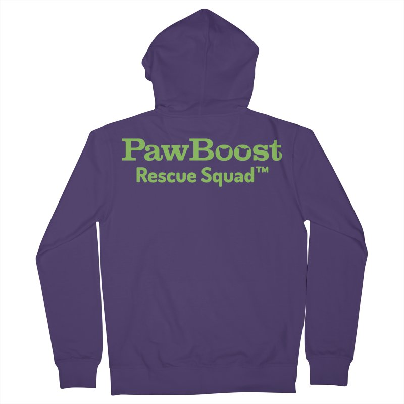 Rescue Squad Women's French Terry Zip-Up Hoody by PawBoost's Shop