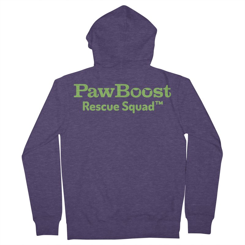 Rescue Squad Men's French Terry Zip-Up Hoody by PawBoost's Shop