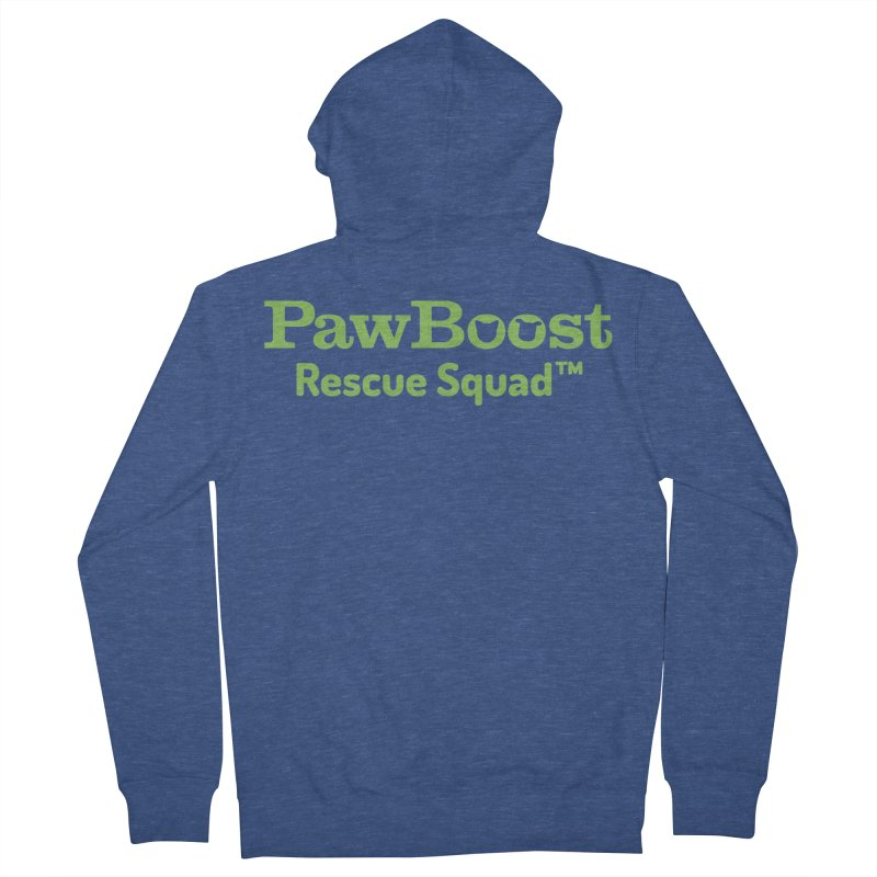 Rescue Squad Men's Zip-Up Hoody by PawBoost's Shop