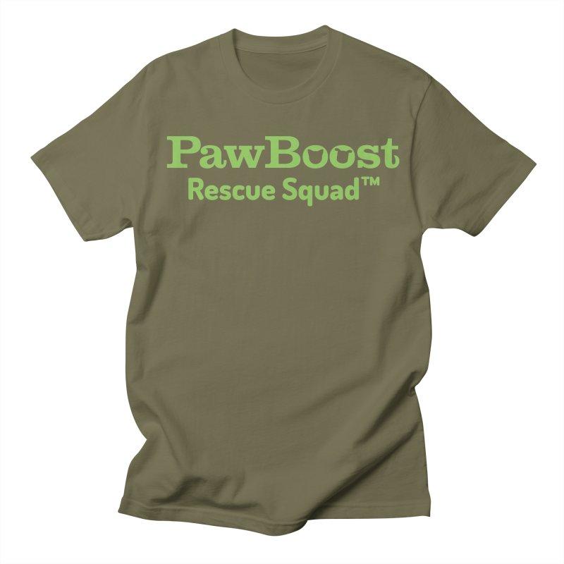 Rescue Squad Women's Regular Unisex T-Shirt by PawBoost's Shop