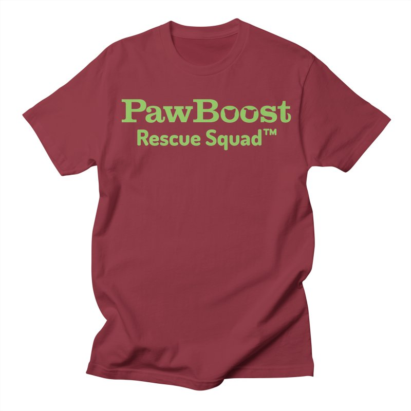 Rescue Squad Men's Regular T-Shirt by PawBoost's Shop