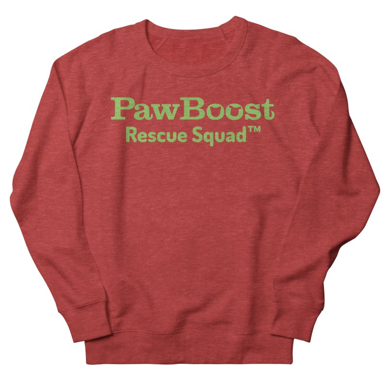 Rescue Squad Women's French Terry Sweatshirt by PawBoost's Shop