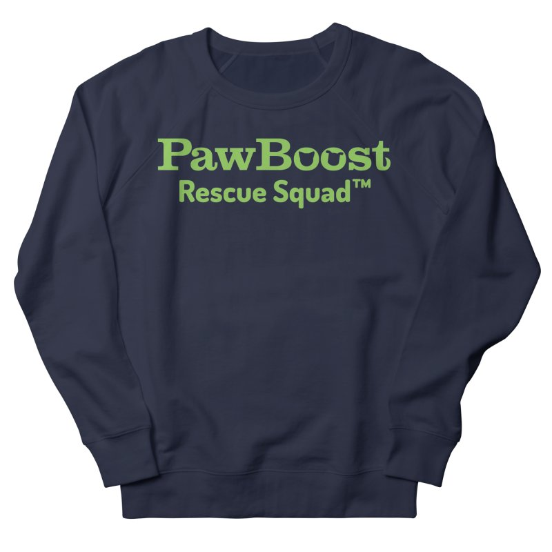 Rescue Squad Men's French Terry Sweatshirt by PawBoost's Shop