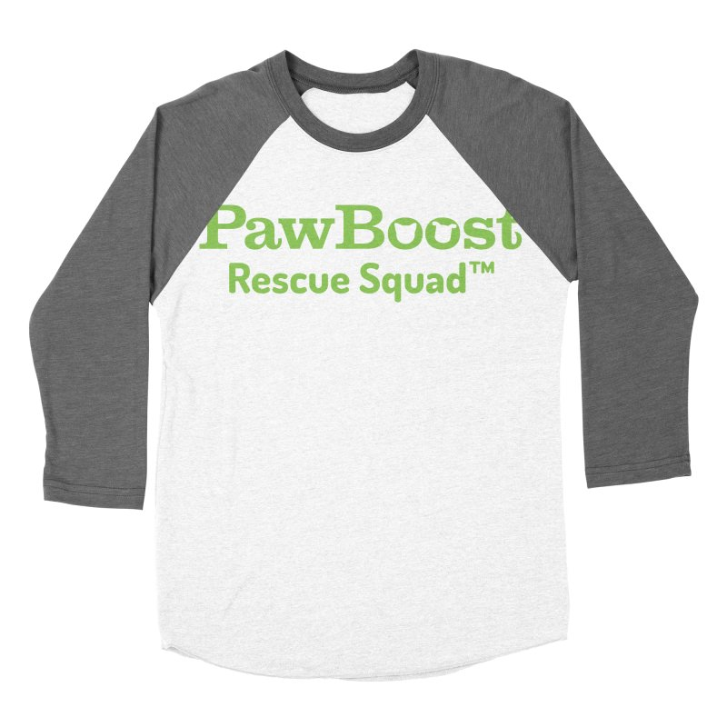 Rescue Squad Women's Baseball Triblend T-Shirt by PawBoost's Shop