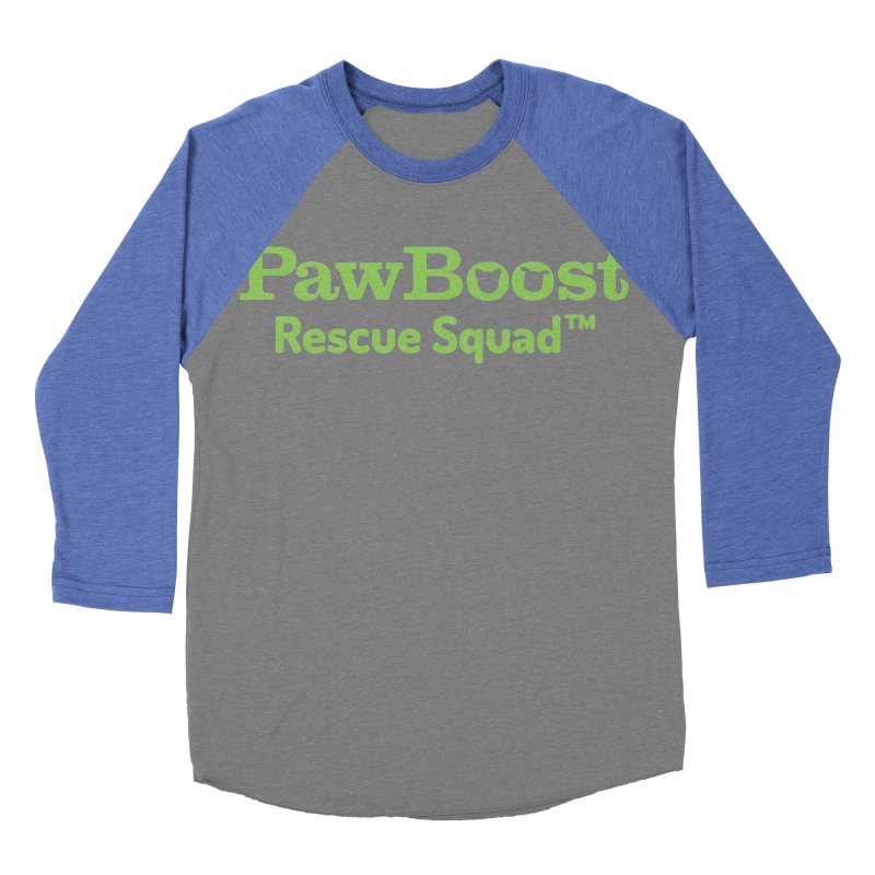 Rescue Squad Women's Baseball Triblend Longsleeve T-Shirt by PawBoost's Shop