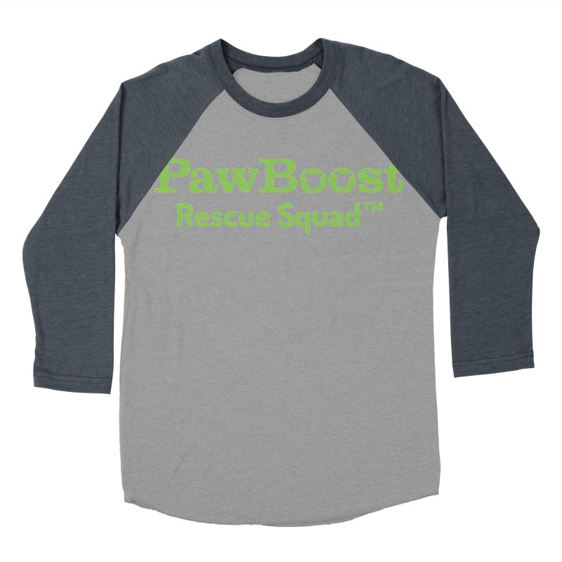 Rescue Squad Men's Baseball Triblend Longsleeve T-Shirt by PawBoost's Shop