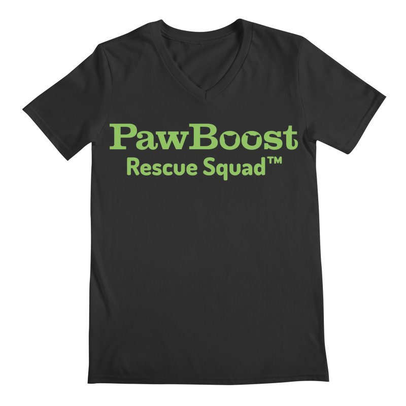 Rescue Squad Men's Regular V-Neck by PawBoost's Shop