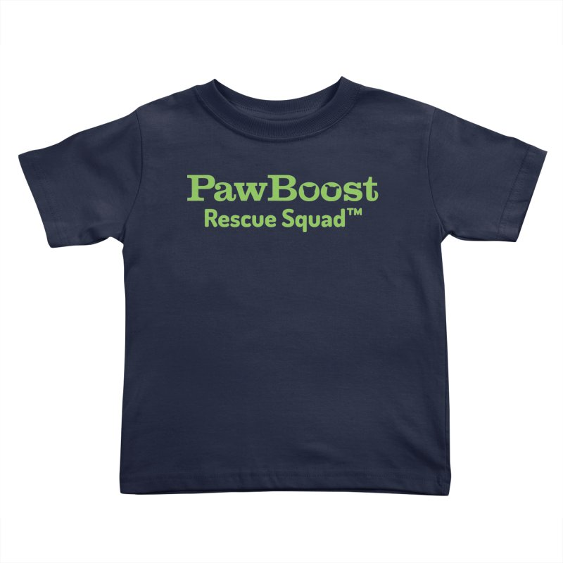 Rescue Squad Kids Toddler T-Shirt by PawBoost's Shop