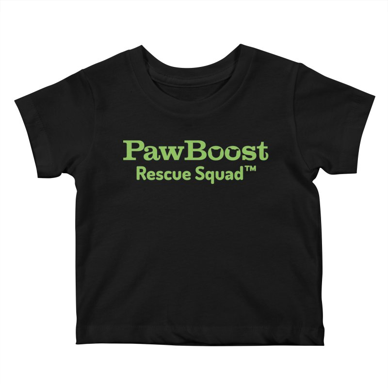 Rescue Squad Kids Baby T-Shirt by PawBoost's Shop