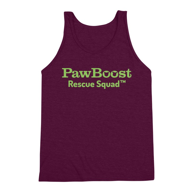 Rescue Squad Men's Triblend Tank by PawBoost's Shop