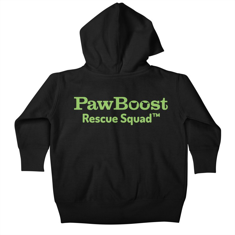 Rescue Squad Kids Baby Zip-Up Hoody by PawBoost's Shop