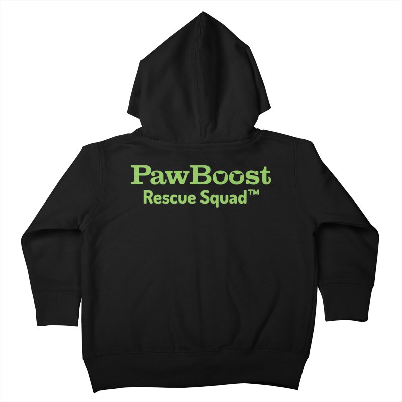 Rescue Squad Kids Toddler Zip-Up Hoody by PawBoost's Shop