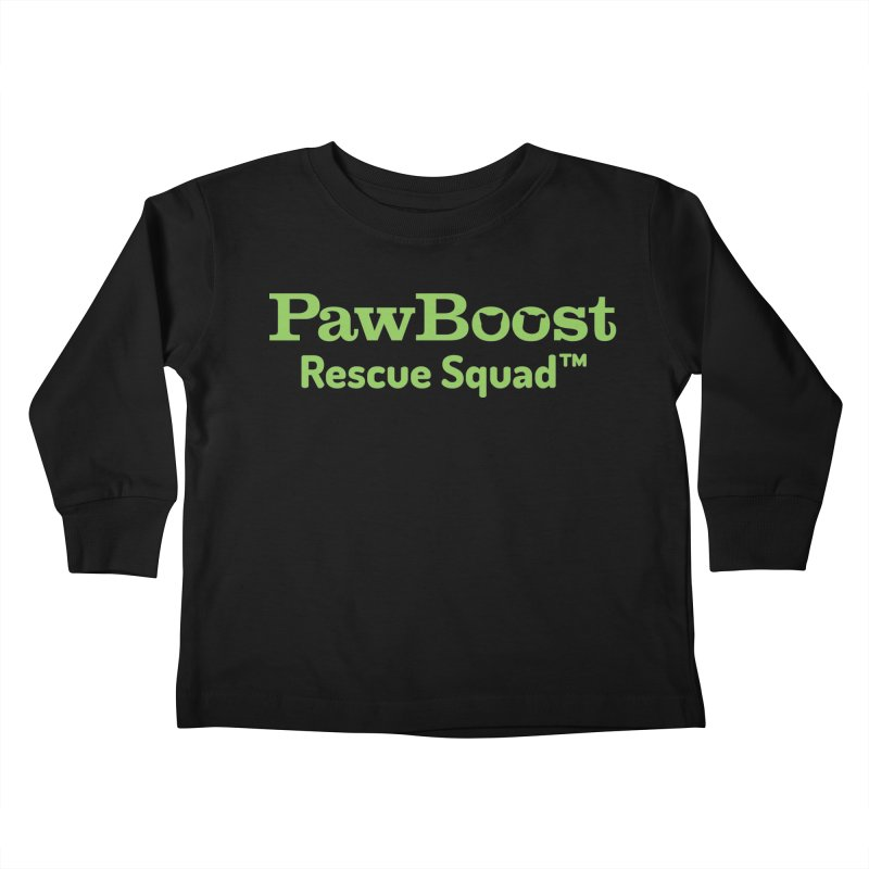 Rescue Squad Kids Toddler Longsleeve T-Shirt by PawBoost's Shop