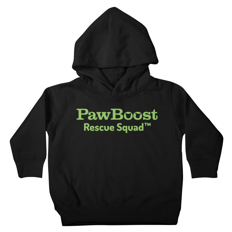 Rescue Squad Kids Toddler Pullover Hoody by PawBoost's Shop