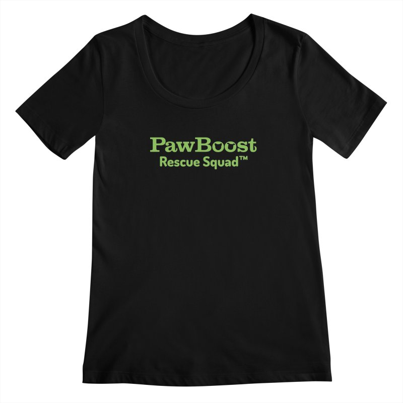 Rescue Squad Women's Scoopneck by PawBoost's Shop