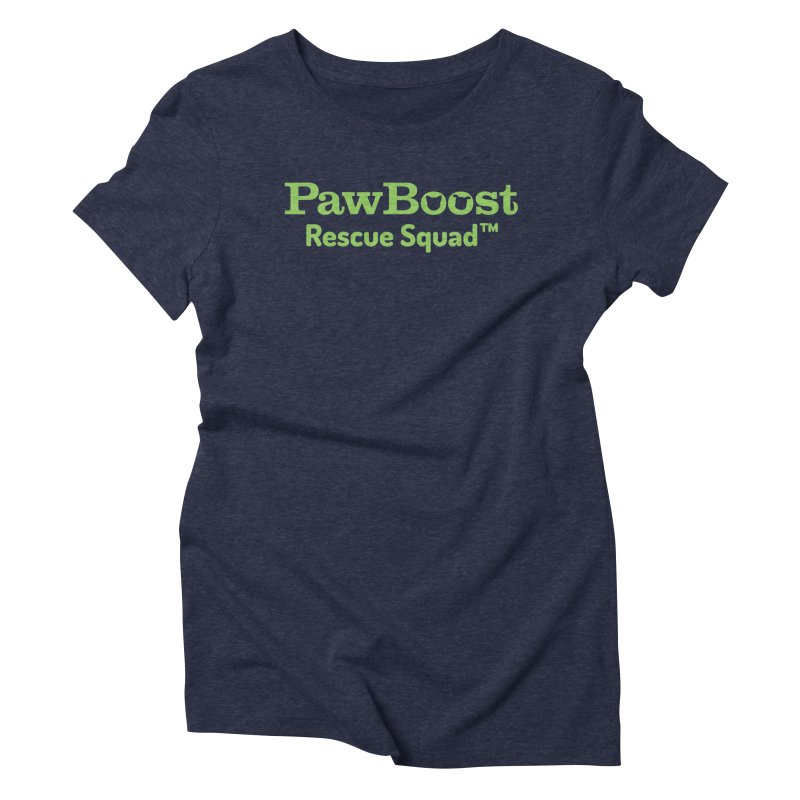 Rescue Squad Women's Triblend T-Shirt by PawBoost's Shop