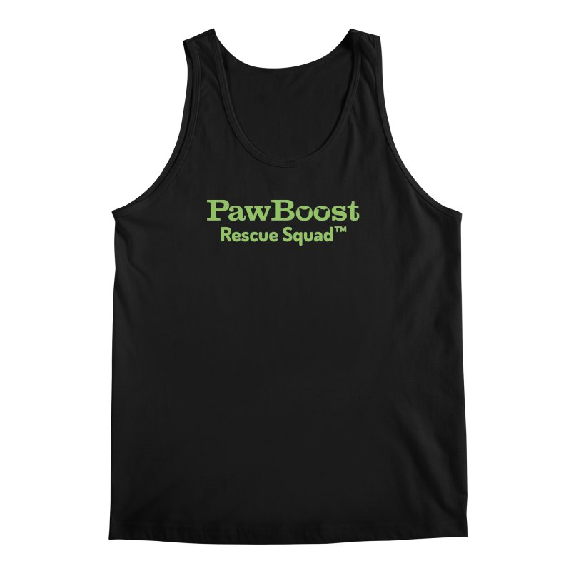 Rescue Squad Men's Regular Tank by PawBoost's Shop