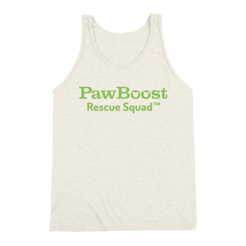 Rescue Squad Men's Triblend Tank by PawBoost's Shop