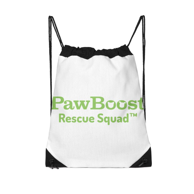 Rescue Squad Accessories Drawstring Bag Bag by PawBoost's Shop