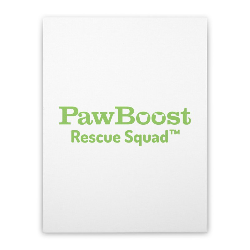 Rescue Squad Home Stretched Canvas by PawBoost's Shop