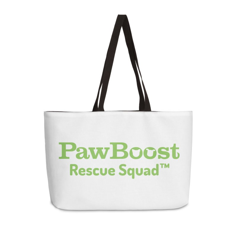 Rescue Squad Accessories Weekender Bag Bag by PawBoost's Shop