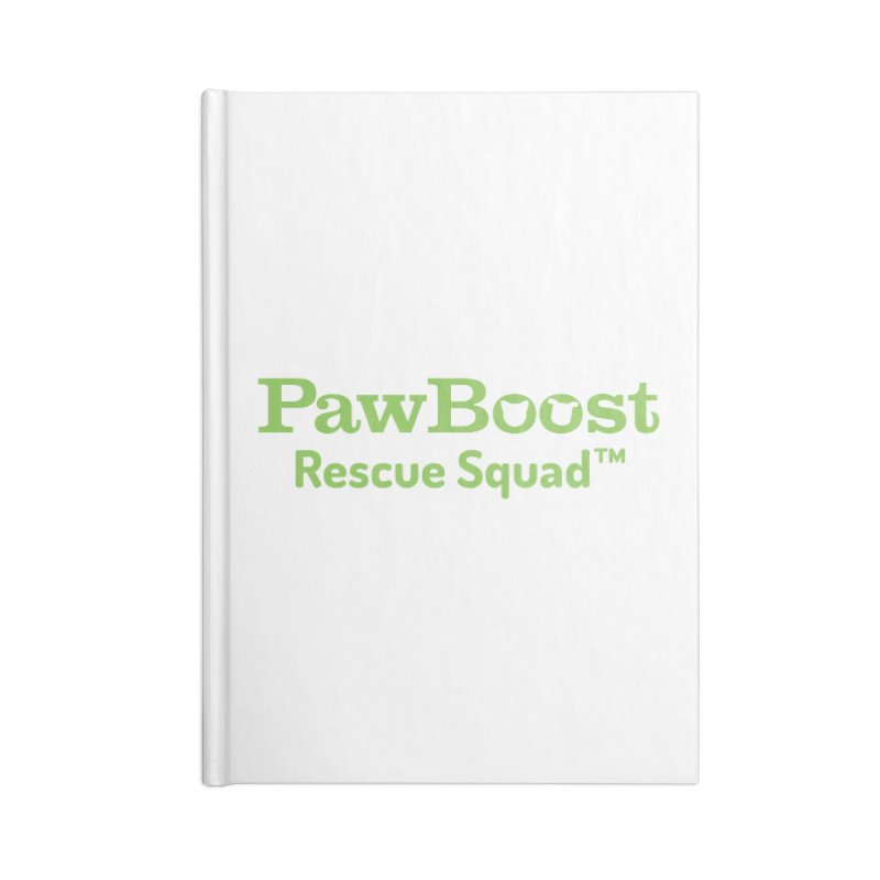 Rescue Squad Accessories Blank Journal Notebook by PawBoost's Shop