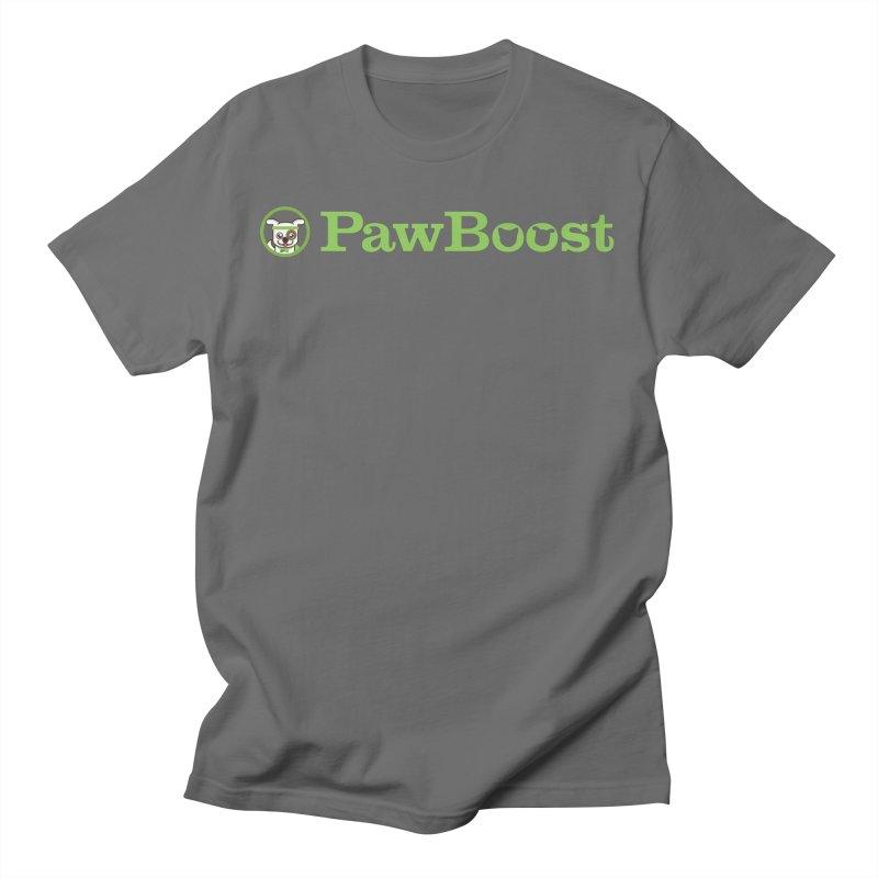 PawBoost Men's T-Shirt by PawBoost's Shop