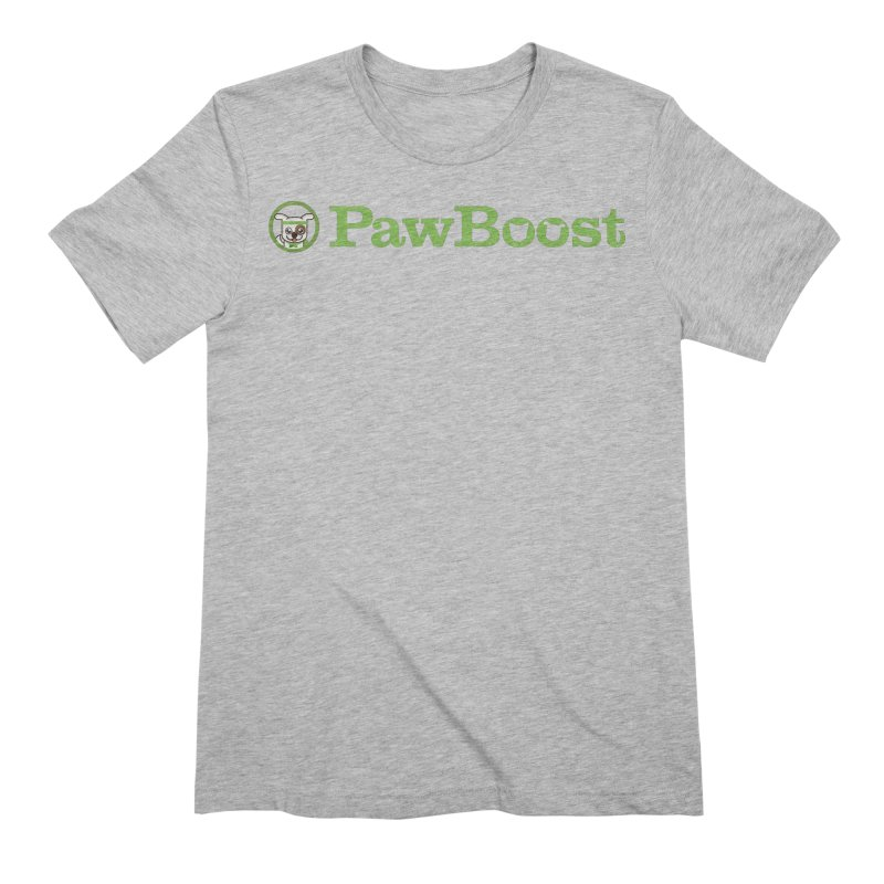 PawBoost Men's Extra Soft T-Shirt by PawBoost's Shop