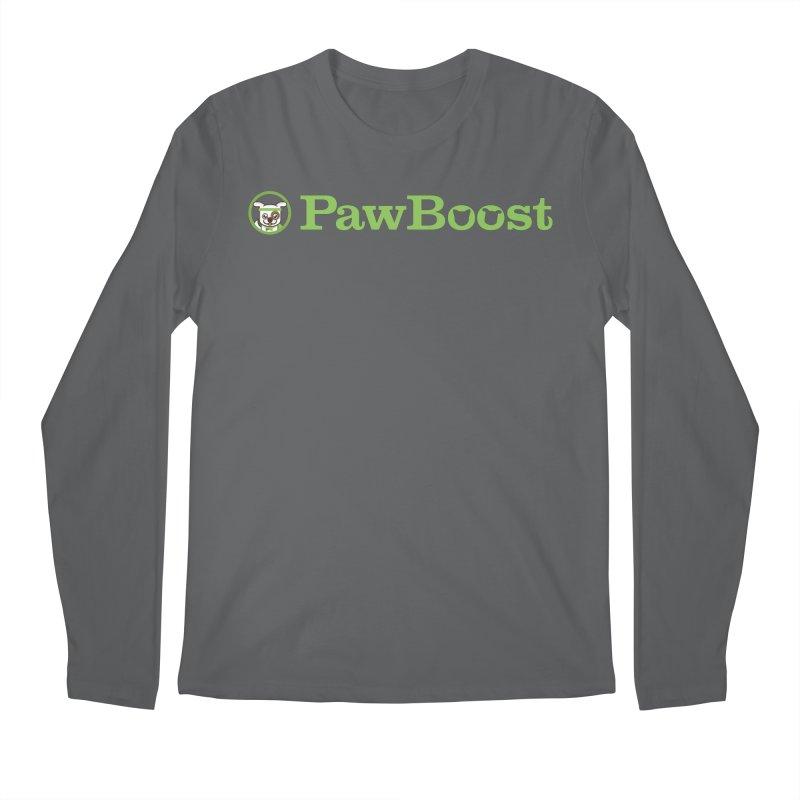 PawBoost Men's Longsleeve T-Shirt by PawBoost's Shop