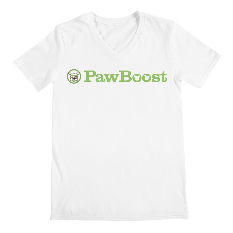 PawBoost Men's V-Neck by PawBoost's Shop