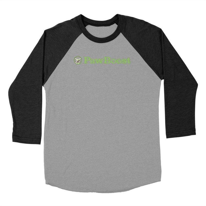 PawBoost Men's Baseball Triblend Longsleeve T-Shirt by PawBoost's Shop